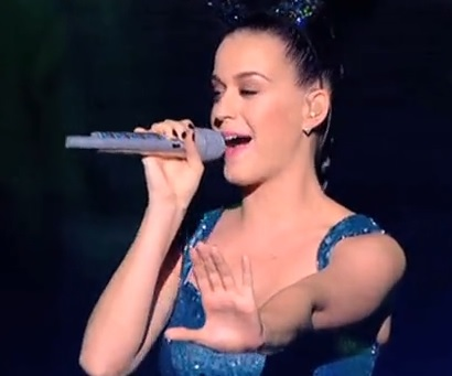 Katy Perry rate son playback aux NRJ Music Awards 2013