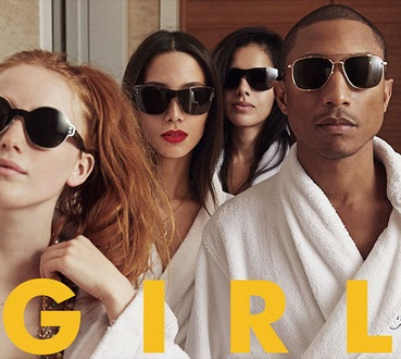 Pharrell Williams – Girl, écoutez l'album intégral en streaming