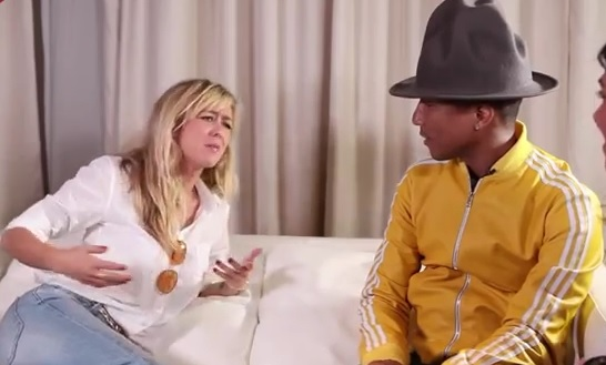 Enora Malagré fait sa groupie en interviewant Pharrell Williams