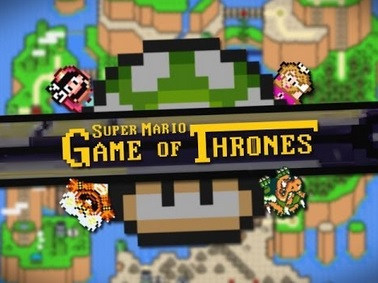 Le Générique de Game of Thrones version Super Mario World