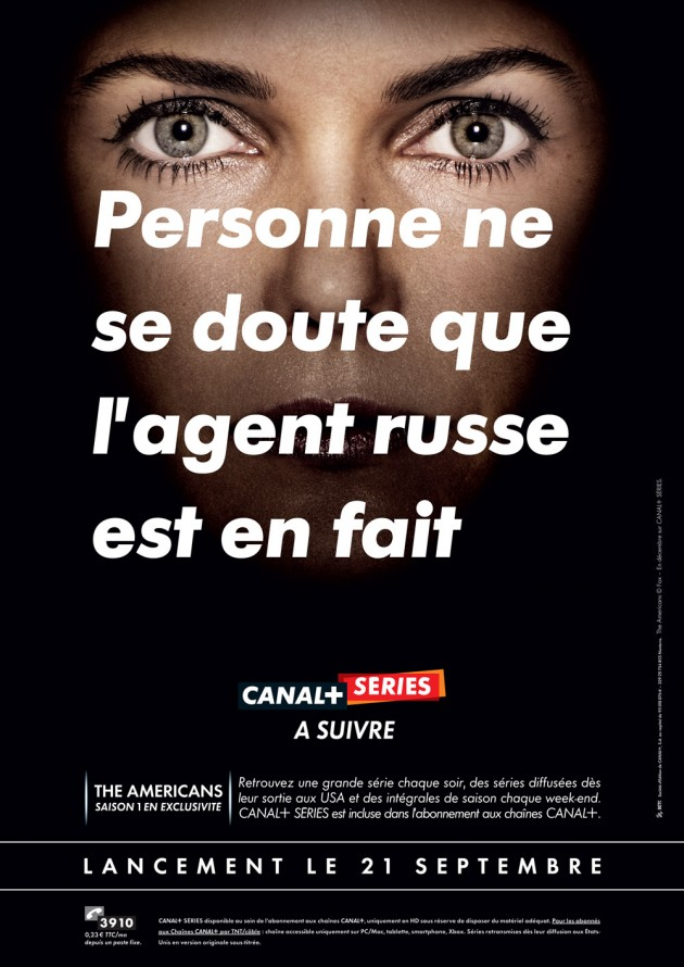 Pub Canal+ Séries The Americans