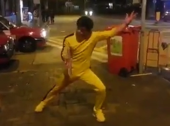 La réincarnation de Bruce Lee à Hong Kong