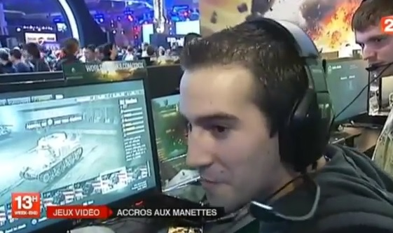Le reportage de France 2 sur la Paris Games Week