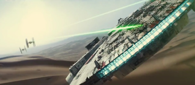 Bande annonce Star Wars 7