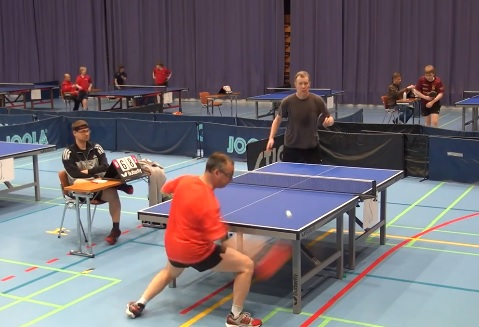 Le point le plus bizarre au tennis de table