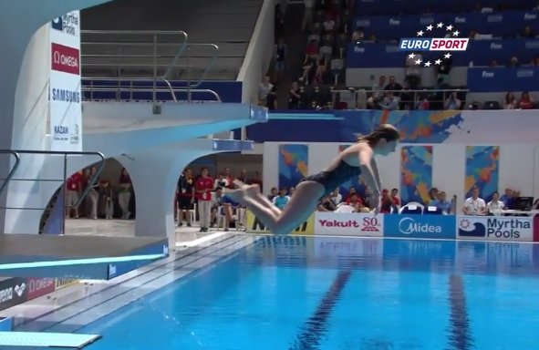 Le plongeon horrible à 0 point de Maddison Keeney