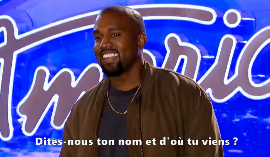Kanye West passe une audition dans l'émission American Idol