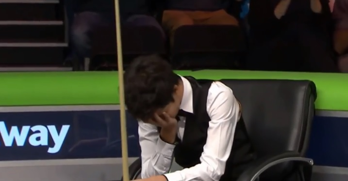 Thepchaiya Un-Nooh rate un break maximum au snooker et 44 000£